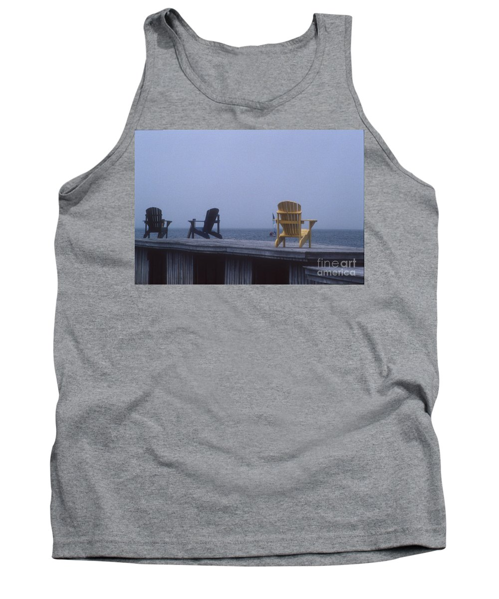 Yellow Tank Top featuring the photograph Alone At Last by Darleen Stry