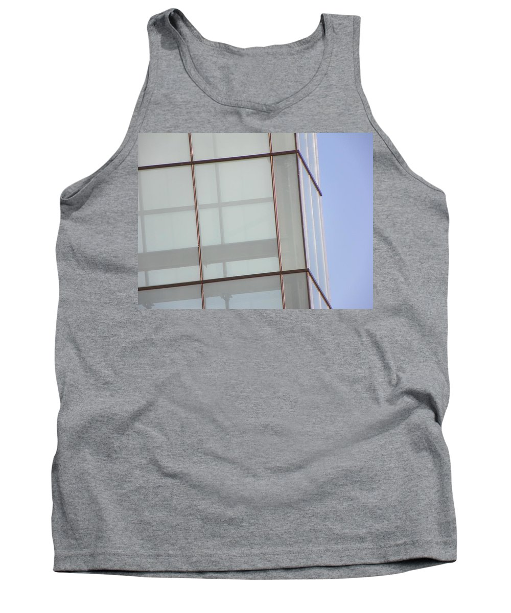 Abstract Tank Top featuring the photograph Architecture 9 by Lenore Senior