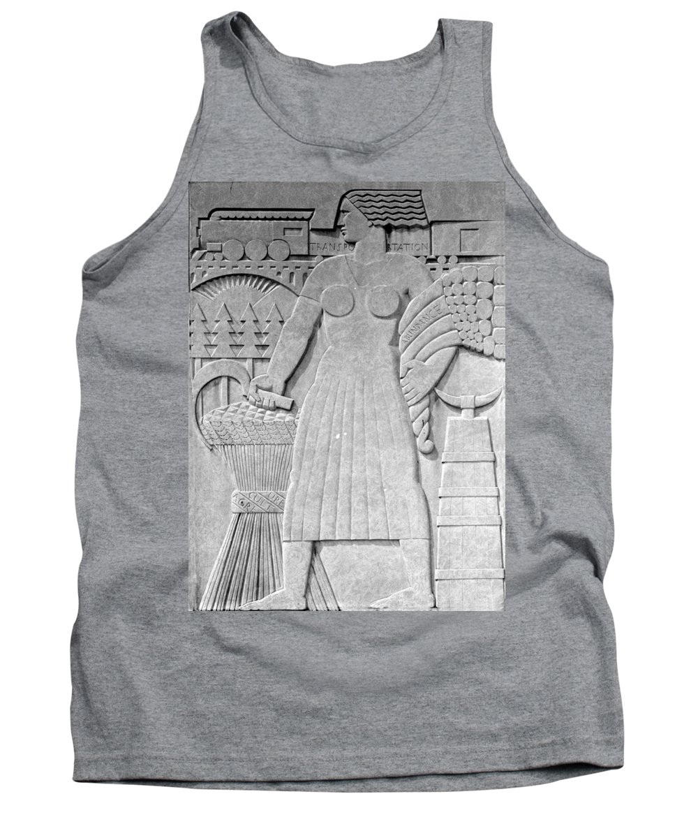 Art Deco Tank Top featuring the photograph Art Deco 16 by Andrew Fare