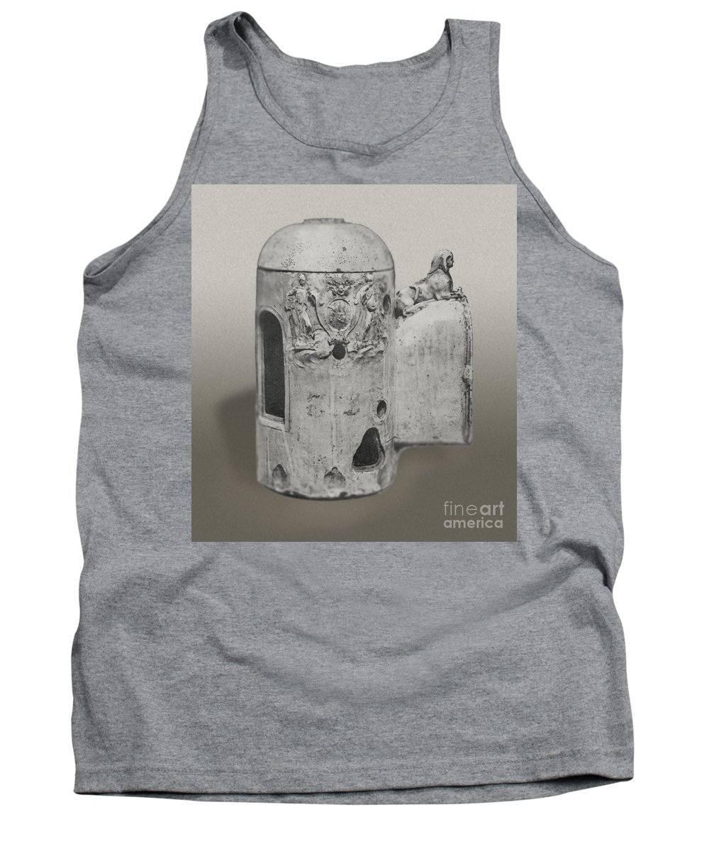 Alchemy Tank Top featuring the photograph Athanor by Science Source