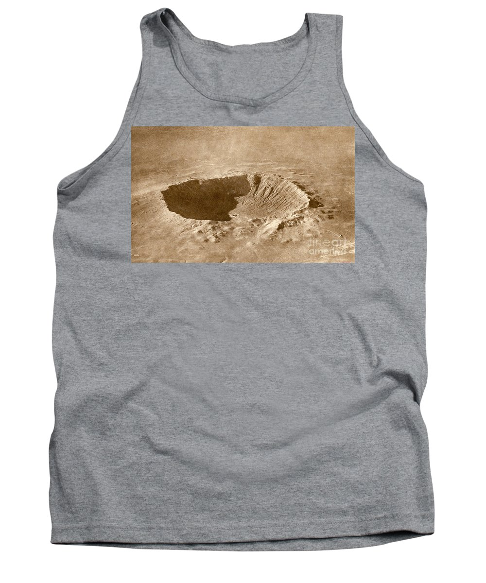 Meteor Crater Tank Top featuring the photograph Barringer Crater by Science Source