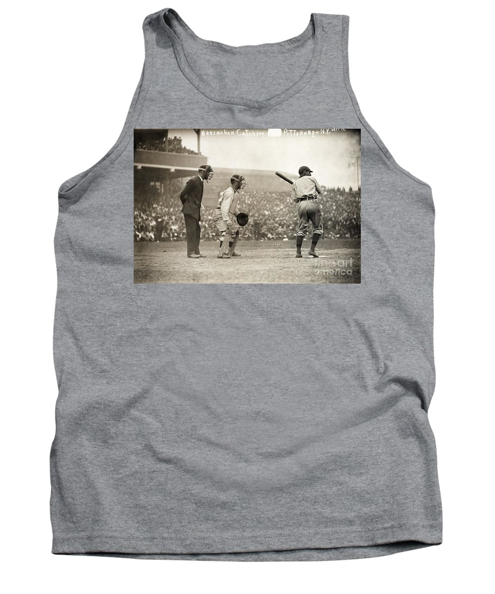 1908 Tank Top featuring the photograph Baseball Game, 1908 by Granger
