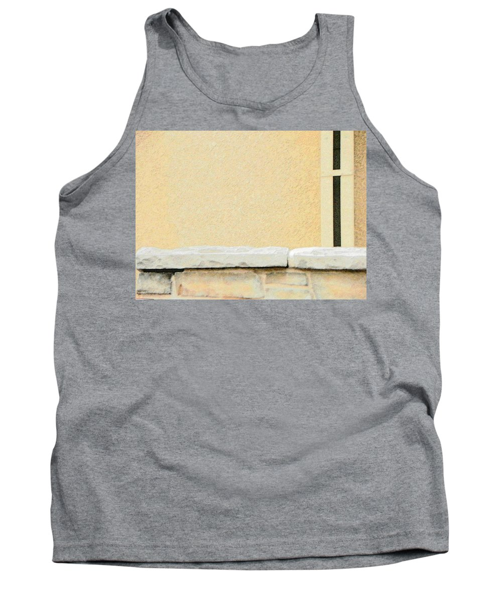 Abstract Tank Top featuring the photograph Beauty In Simplicity by Lenore Senior