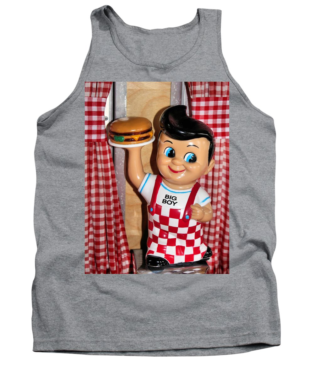 Toy Tank Top featuring the photograph Big Boy by Kristin Elmquist