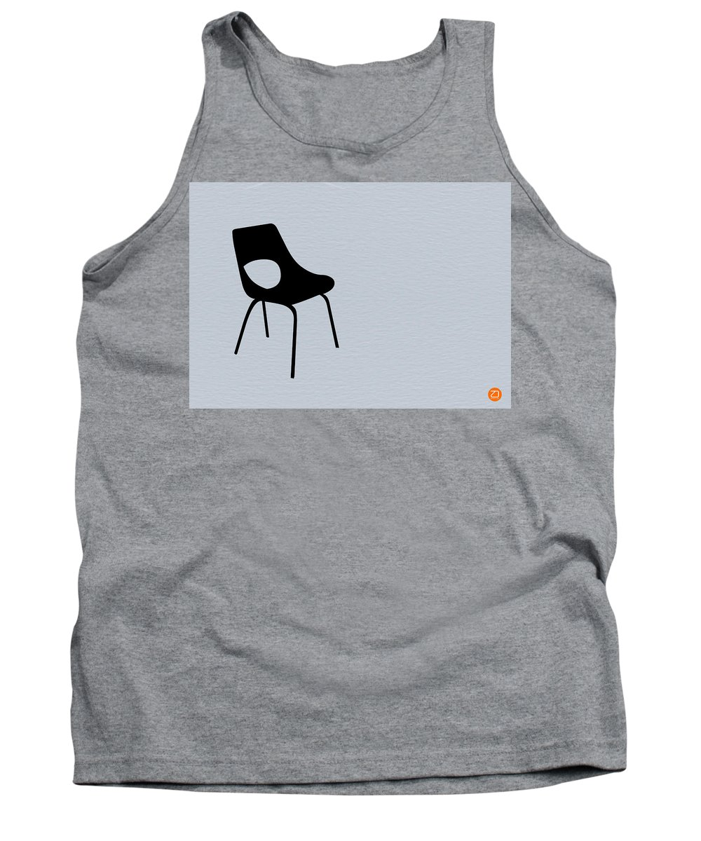 Tank Top featuring the photograph Black Chair by Naxart Studio