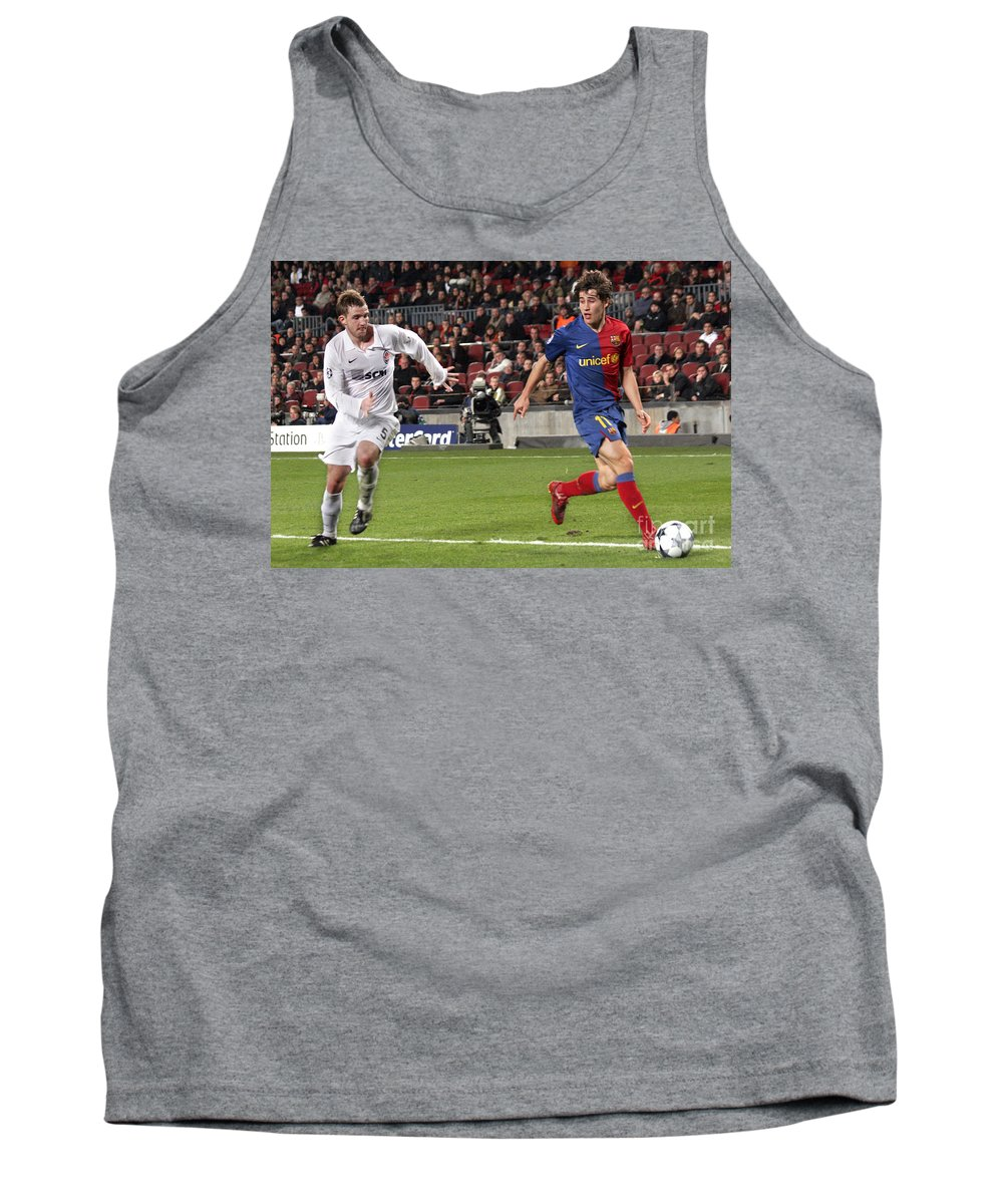 Bojan Tank Top featuring the photograph Bojan Krkic Stroke 2 by Agusti Pardo Rossello
