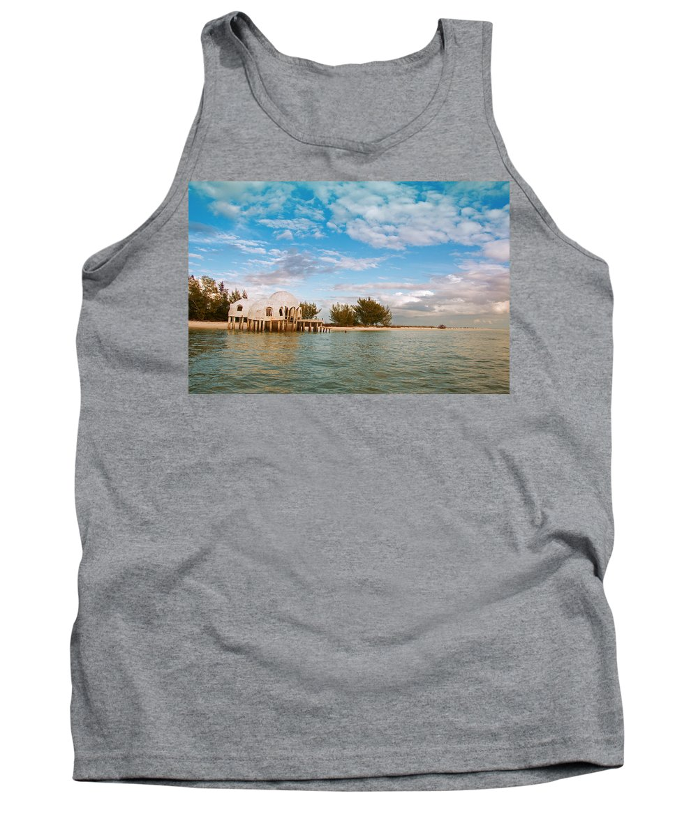 Bubble House Tank Top featuring the photograph Bubble House IIi by Christine Stonebridge