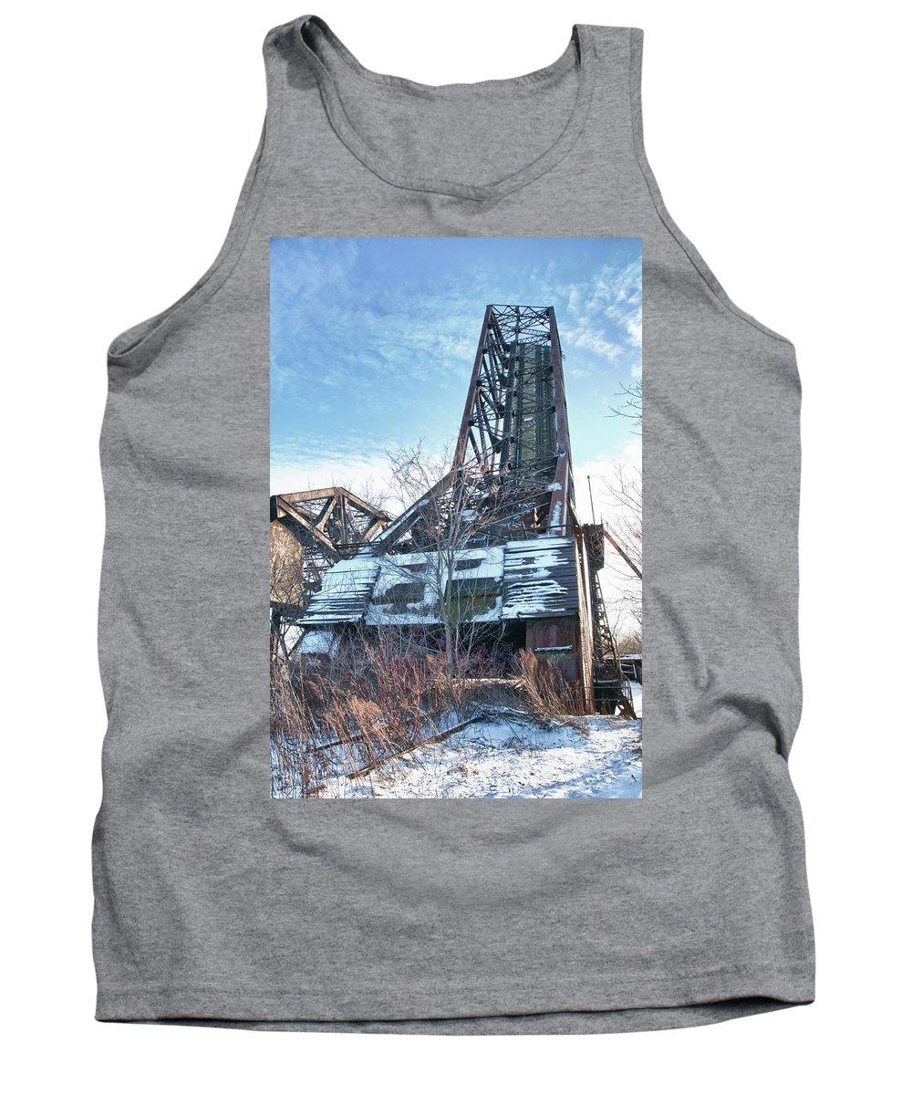 Bridges Tank Top featuring the photograph Buffalo Bridges 10624c by Guy Whiteley