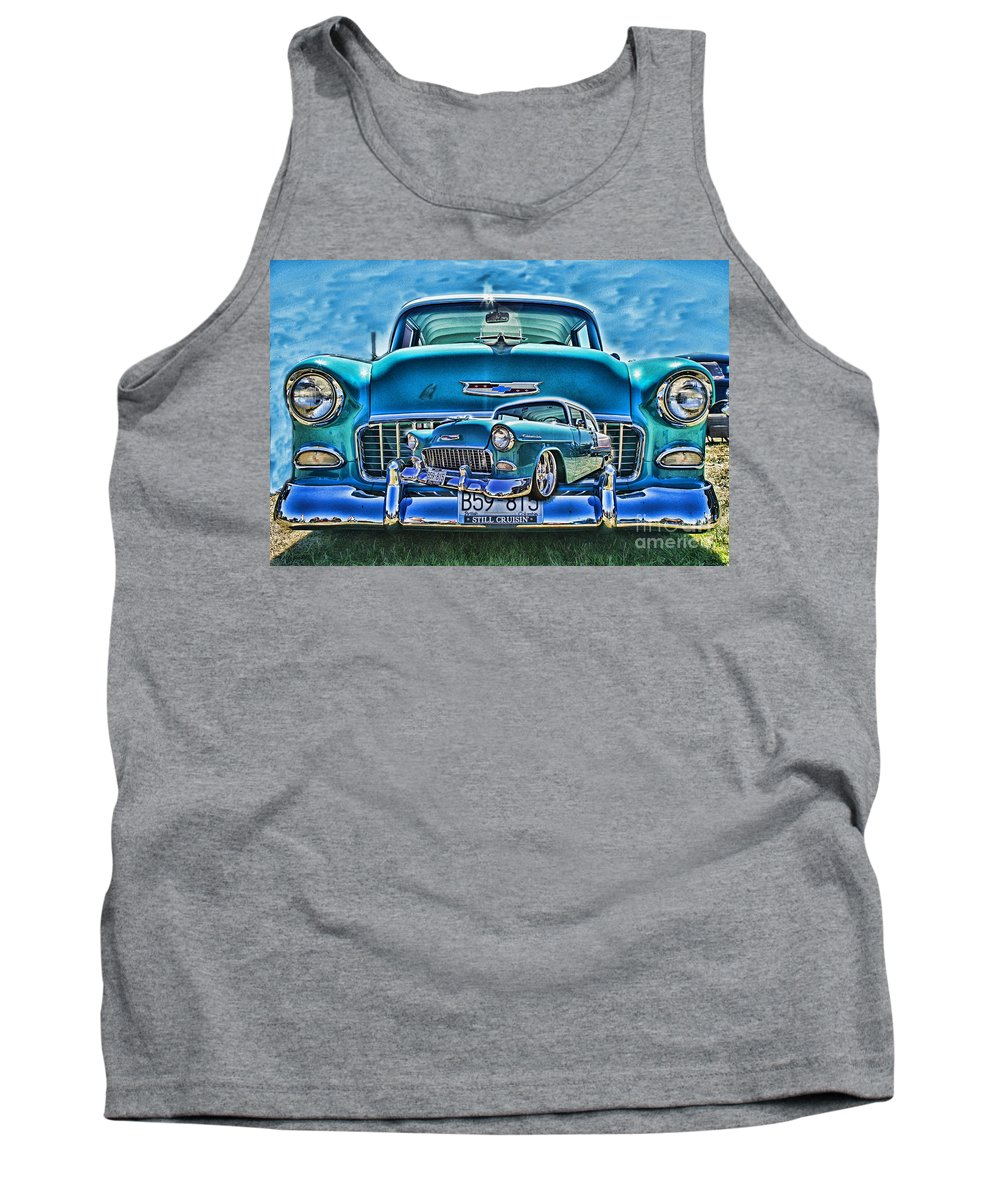 Cars Tank Top featuring the photograph Cadp0738a-12 by Randy Harris