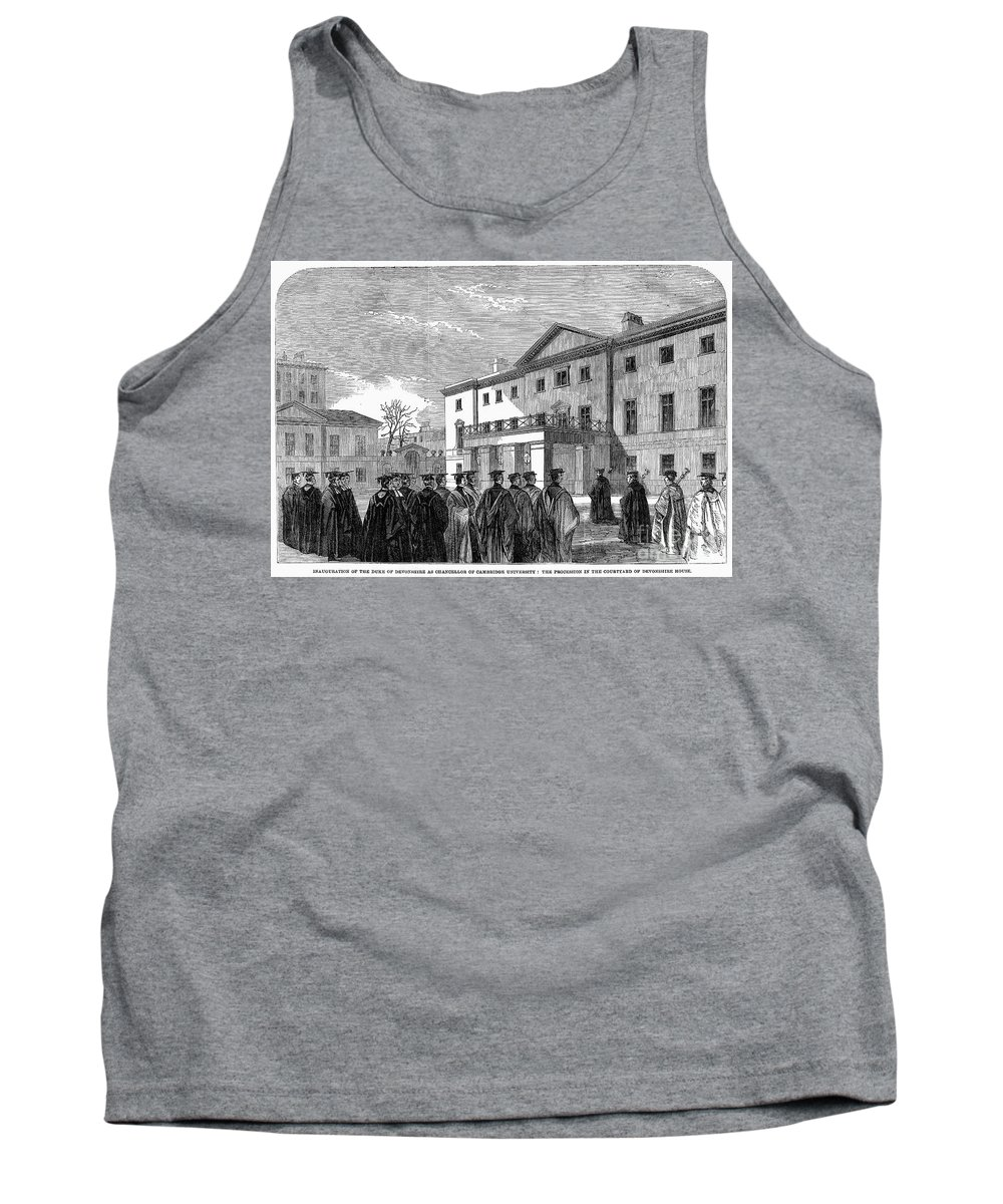 1862 Tank Top featuring the photograph Cambridge University, 1862 by Granger