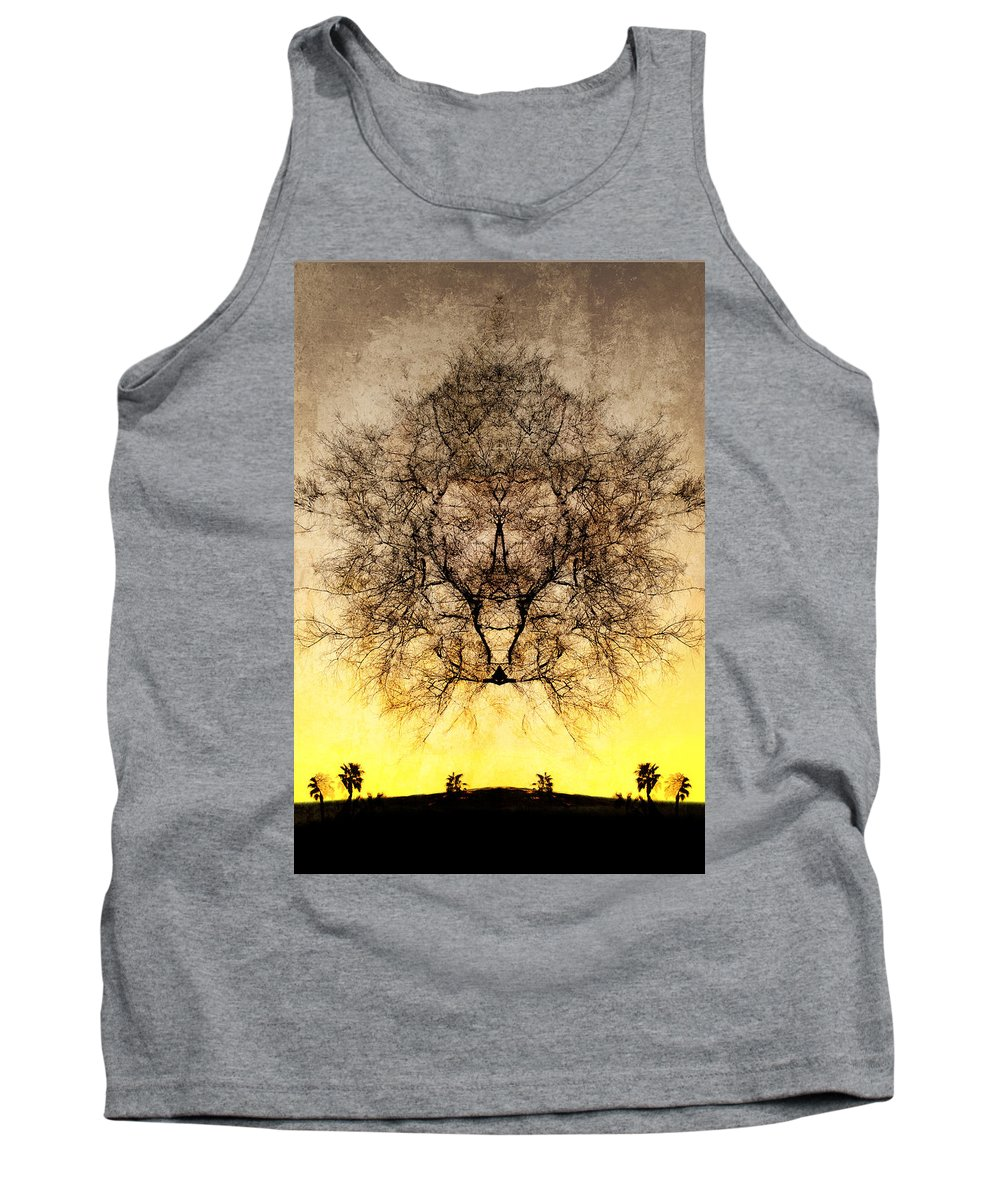 Celestial Tank Top featuring the photograph Celestial Sunrise by Jay Hooker
