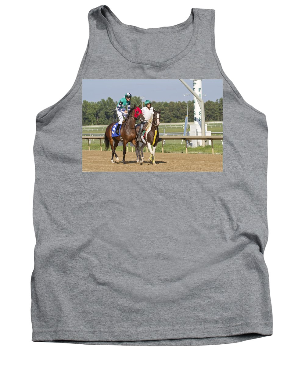 Post Tank Top featuring the photograph Chaperone by Betsy Knapp