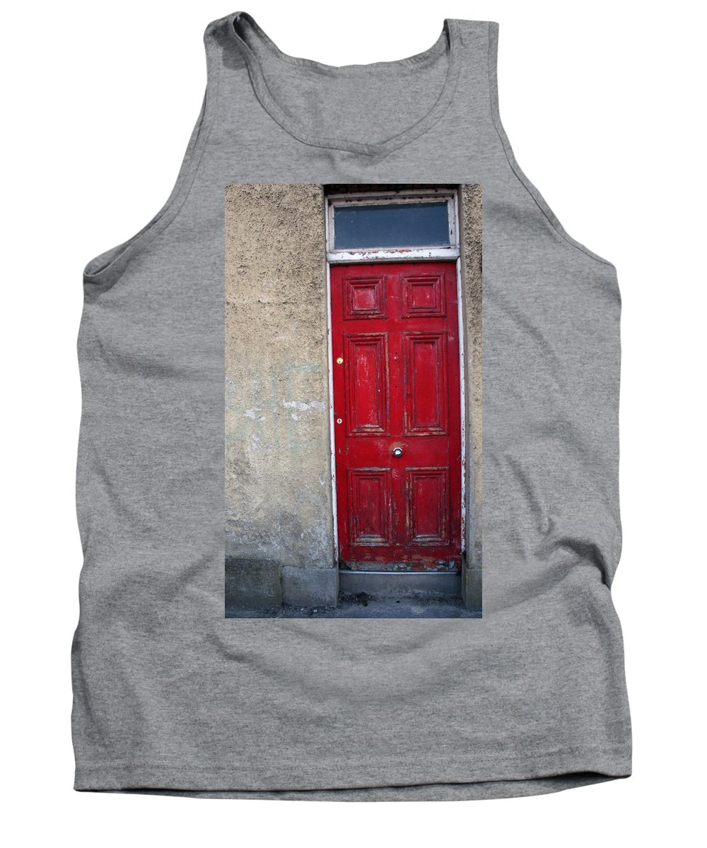 Door Tank Top featuring the photograph City 0022 by Carol Ann Thomas