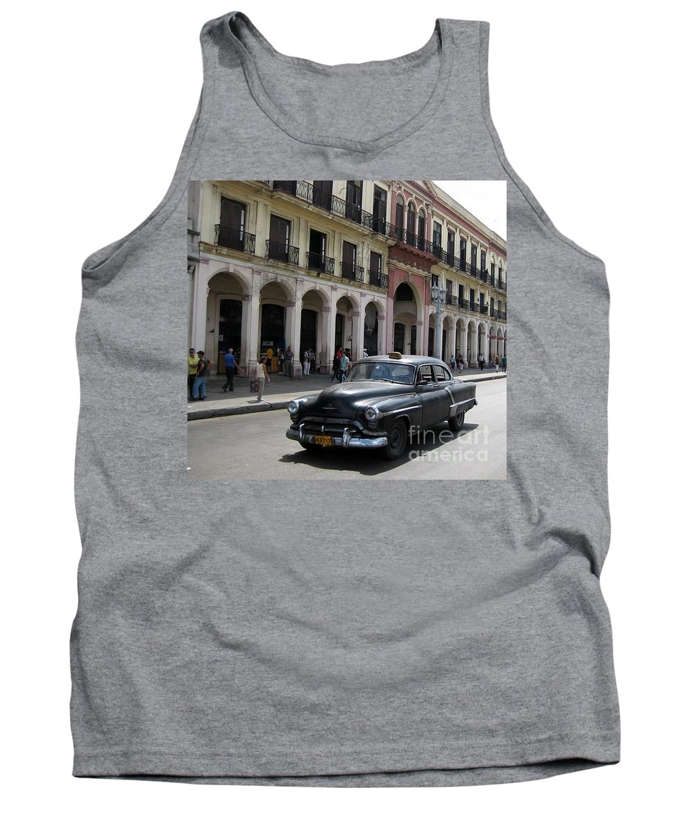 Cars Tank Top featuring the photograph Classic Automobiles by John Malone