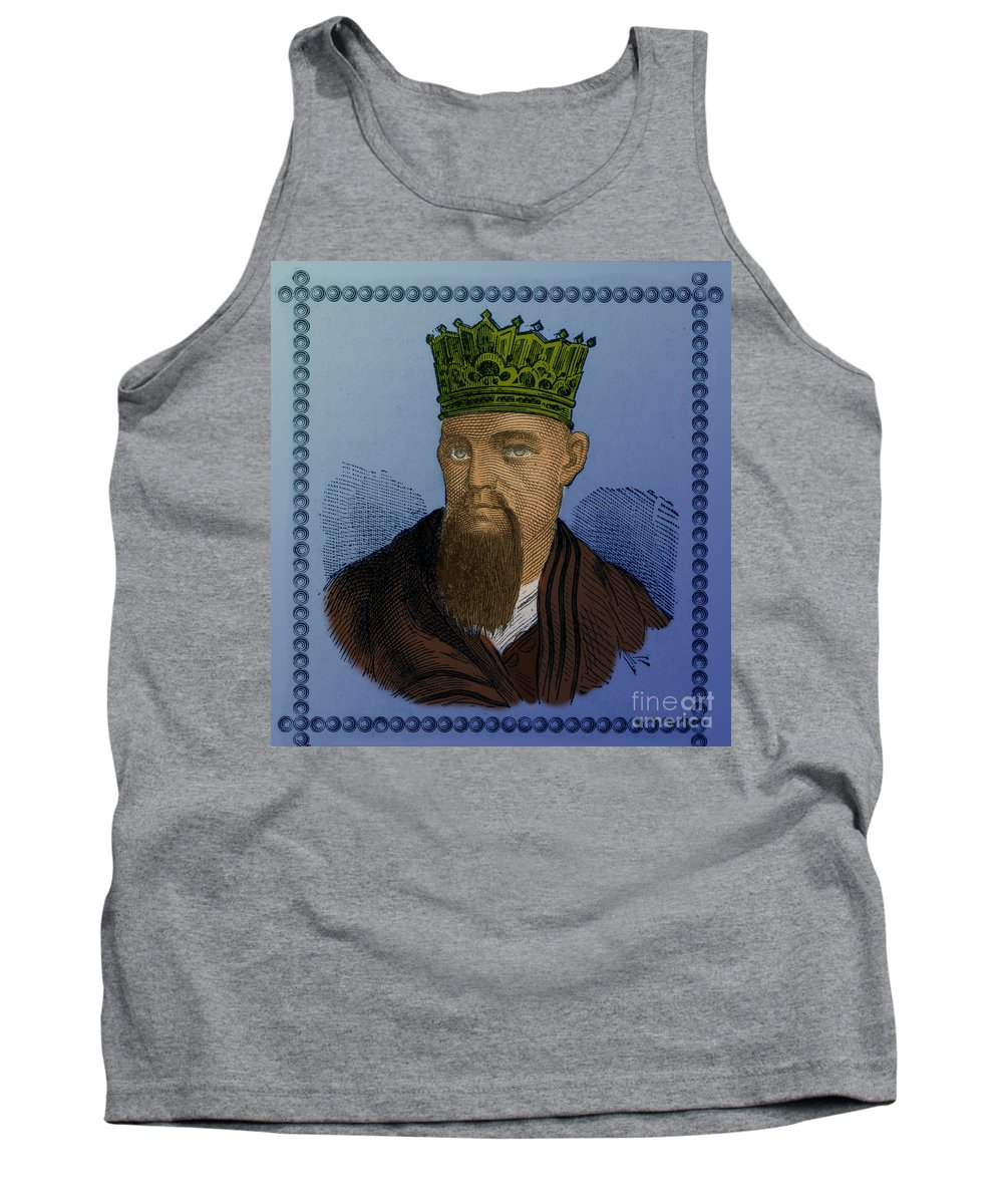 Confucius Tank Top featuring the photograph Confucius, Chinese Philosopher by Photo Researchers