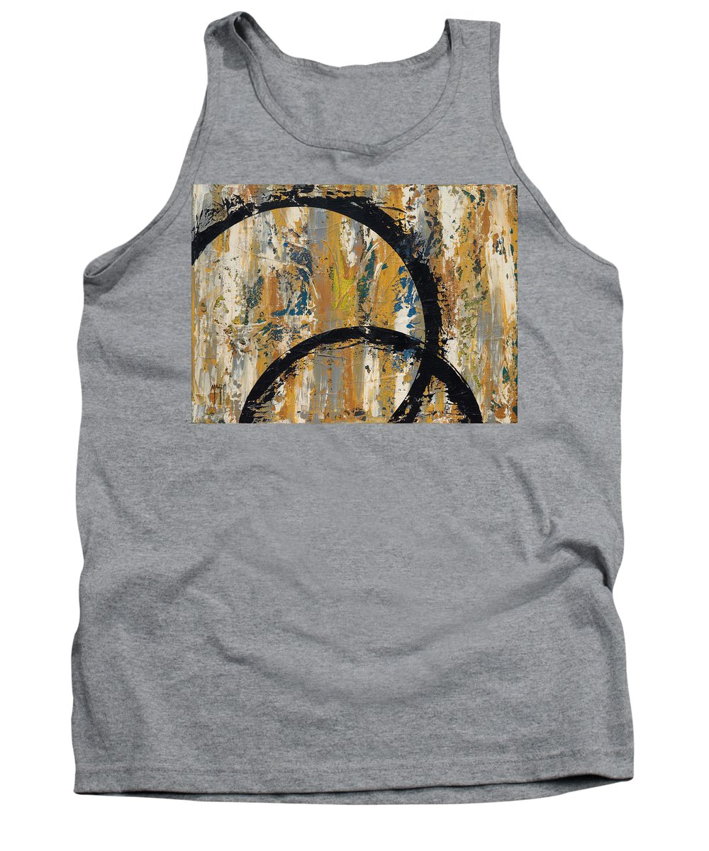 Art Tank Top featuring the painting Cycles 1 by Mauro Celotti