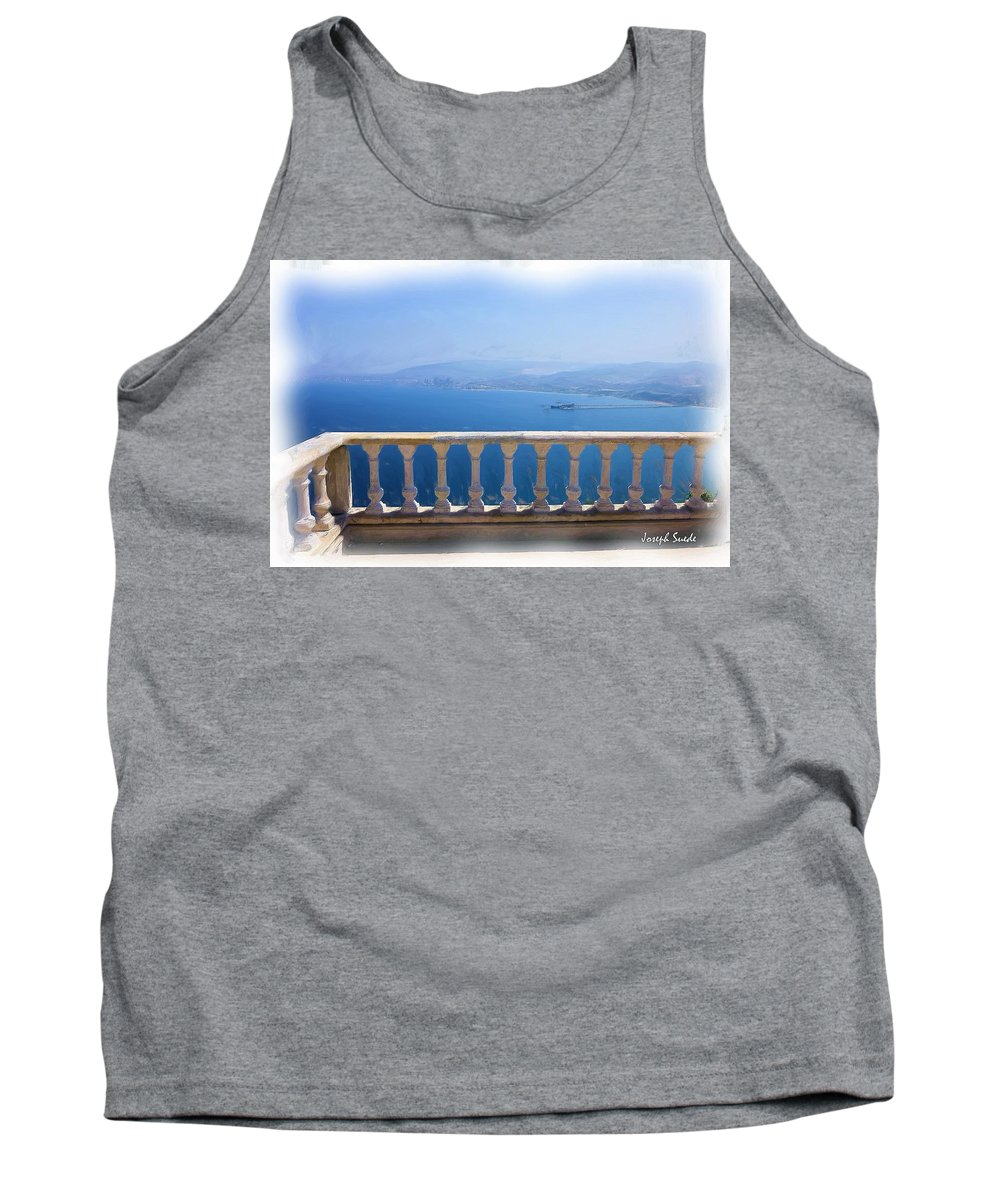 Church Tank Top featuring the photograph Do-00492 Saidet El-nourieh by Digital Oil