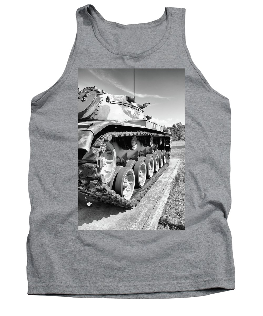 Guy Whiteley Photography Tank Top featuring the photograph Don't Tread On Me by Guy Whiteley