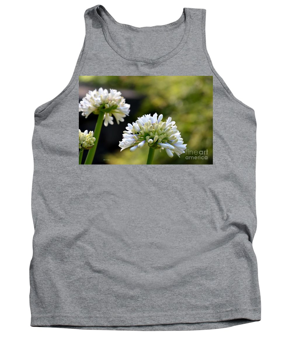 Faintly Tank Top featuring the photograph Faintly Lavender by Maria Urso