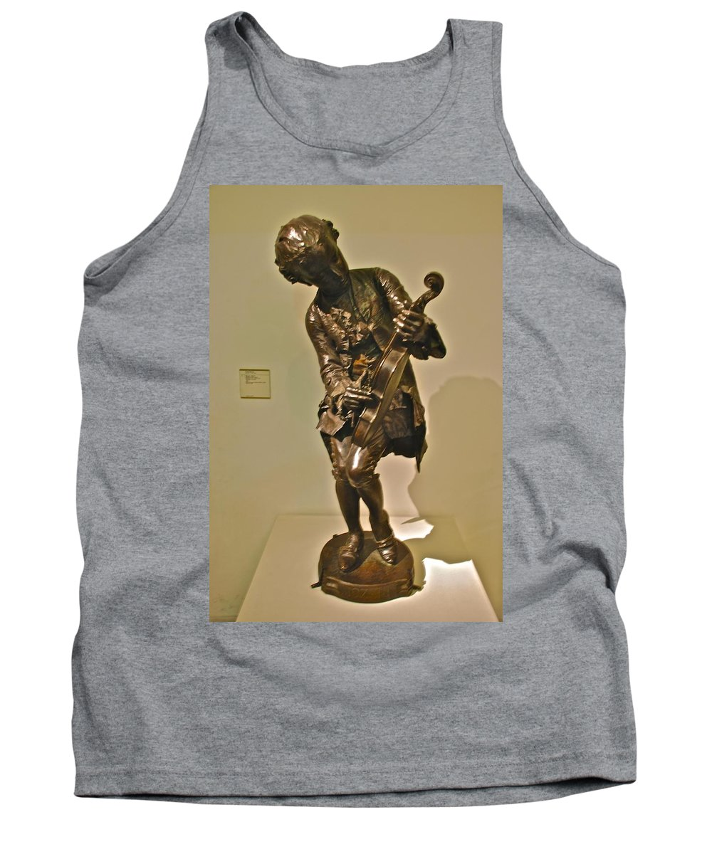 Musee D Orsay Tank Top featuring the photograph Fine Tuning by Eric Tressler