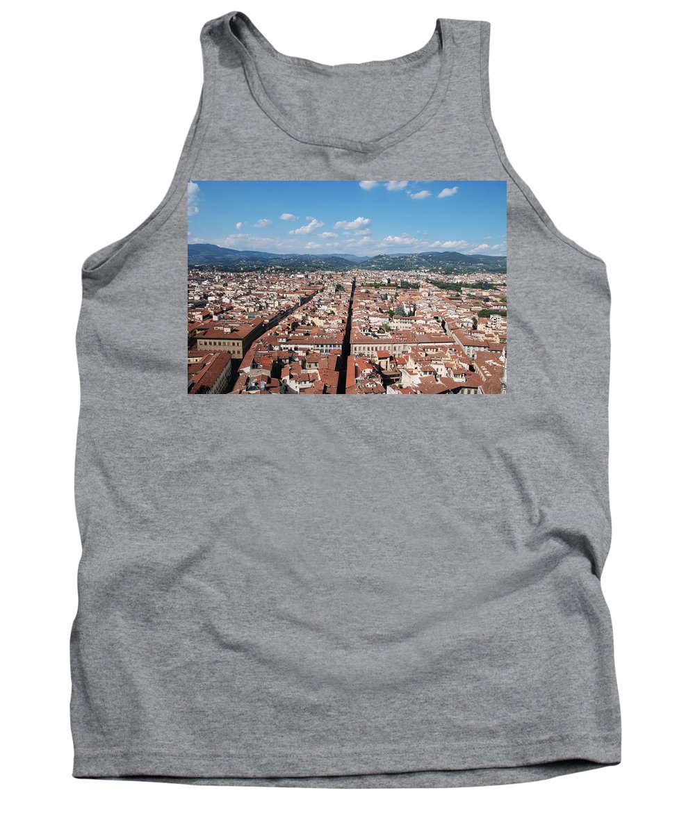 Florence Tank Top featuring the photograph Florence From The Duomo by Dany Lison