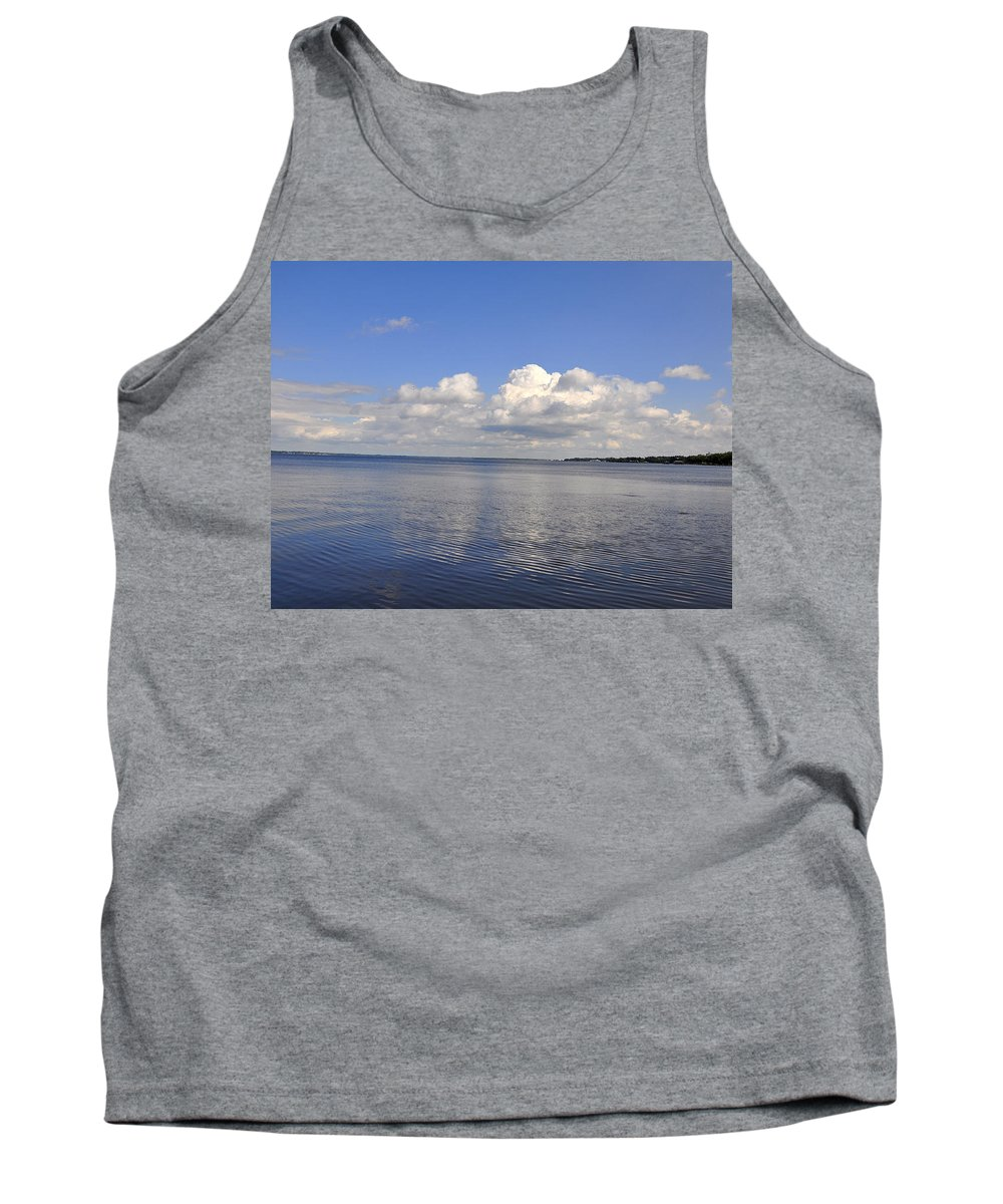 High Quality Tank Top featuring the photograph Floridian View by Sarah McKoy