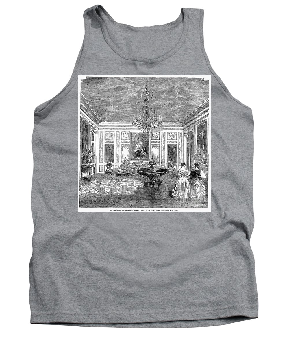 1855 Tank Top featuring the photograph France: Royal Visit, 1855 by Granger