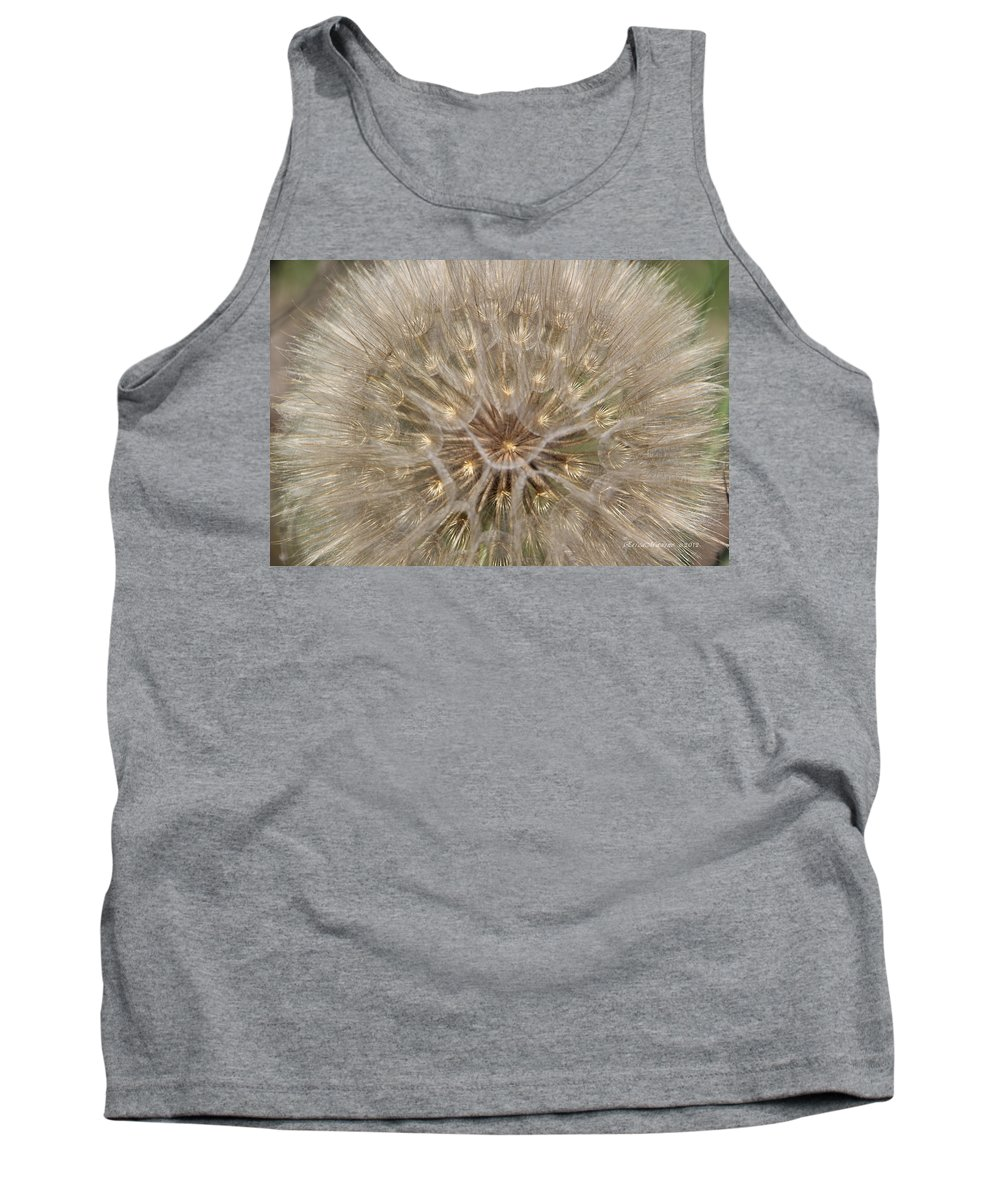 Tn Tank Top featuring the photograph Giant Dandelion by Ericamaxine Price