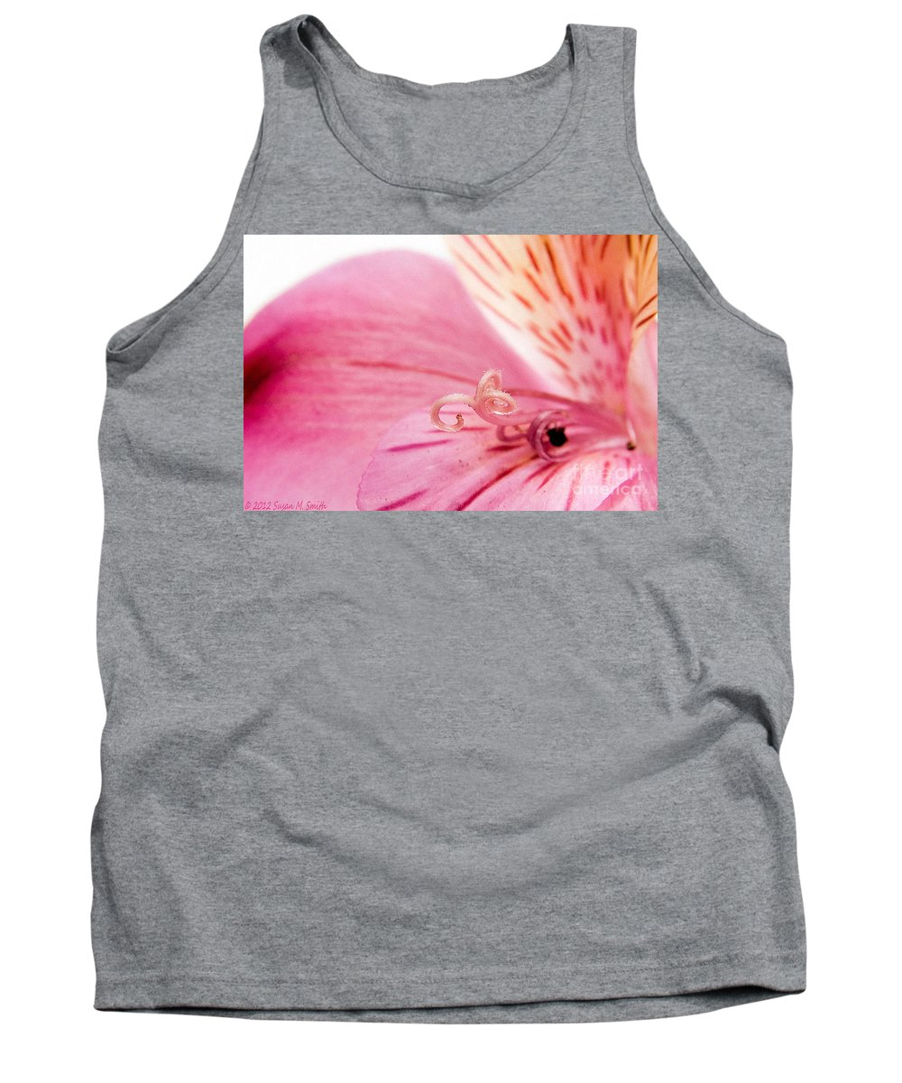 Flower Tank Top featuring the photograph Illuminated by Susan Smith