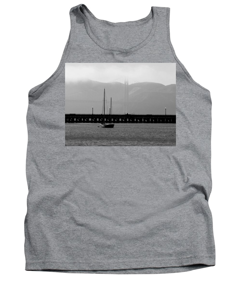 Bay Tank Top featuring the photograph In The Shadows by Jean Macaluso