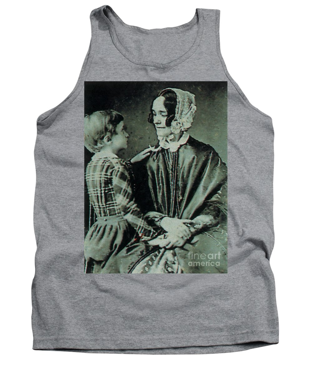 Jane Means Appleton Pierce Tank Top featuring the photograph Jane Pierce by Photo Researchers