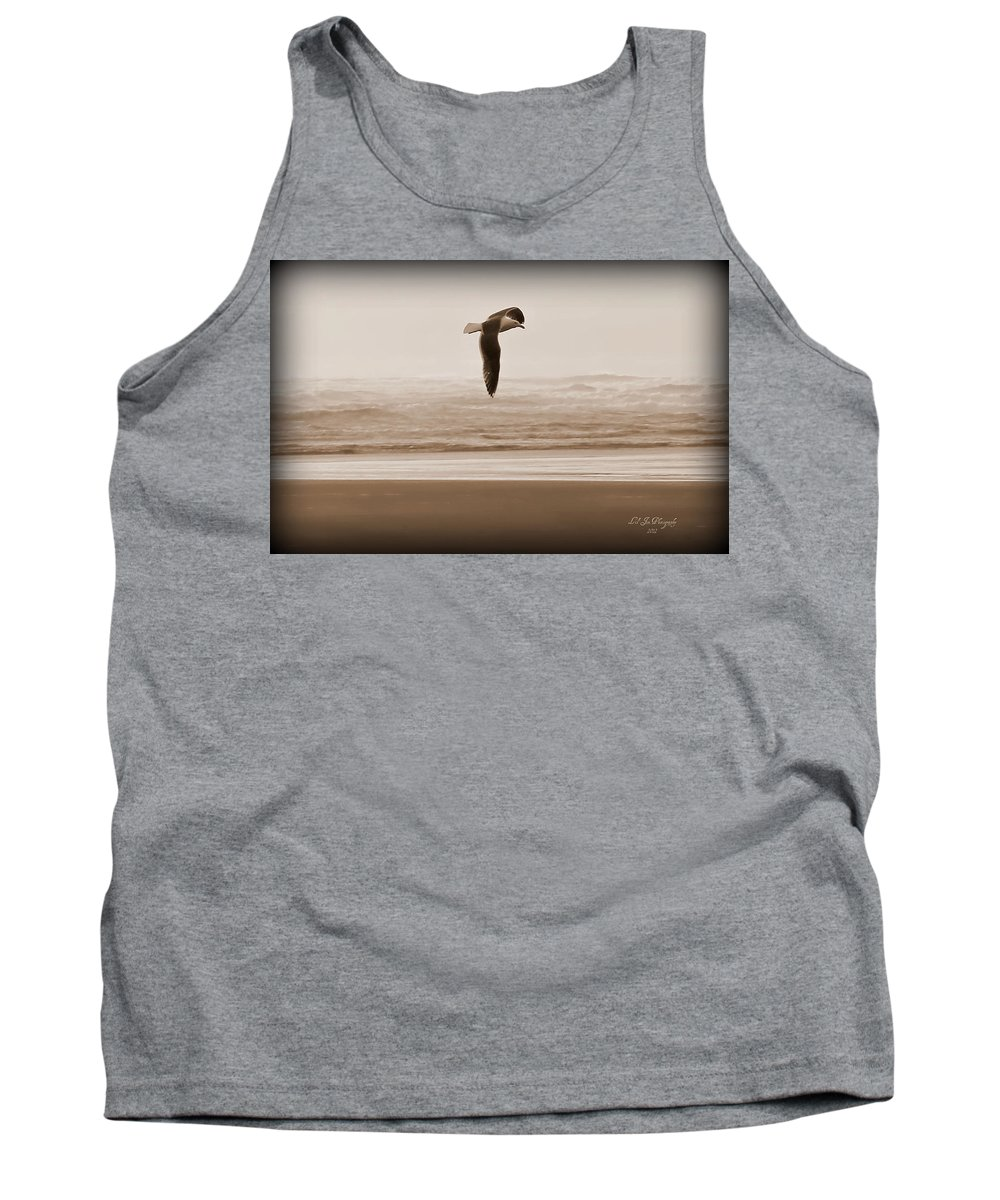 Bird Tank Top featuring the photograph Jonathon by Jeanette C Landstrom