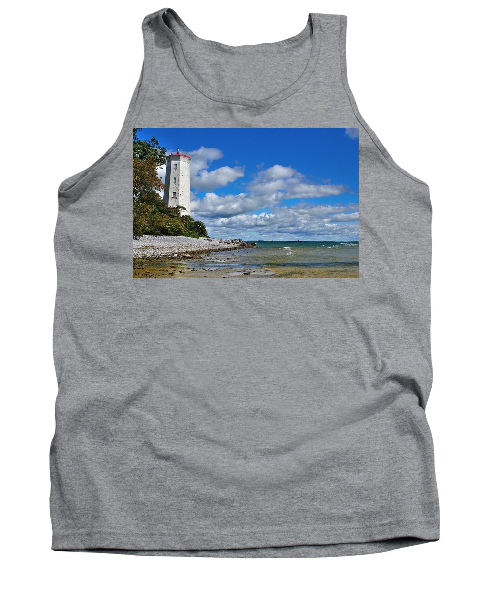 Lighthouse Tank Top featuring the photograph Lighthouse Dream by Joshua McCullough