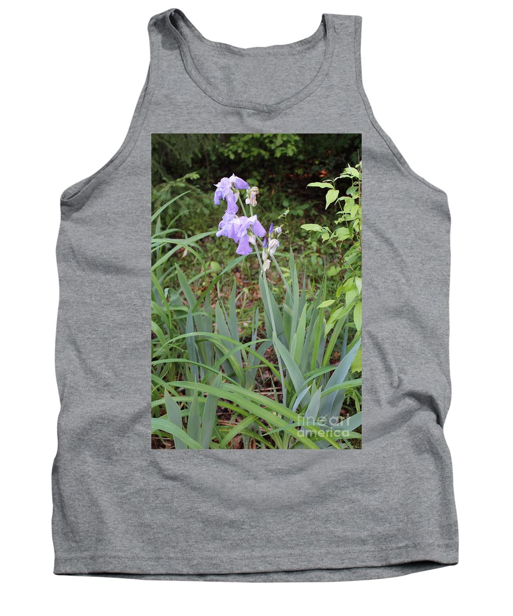 Gladiola Tank Top featuring the photograph Lonely Gladiola by Stephanie Kripa