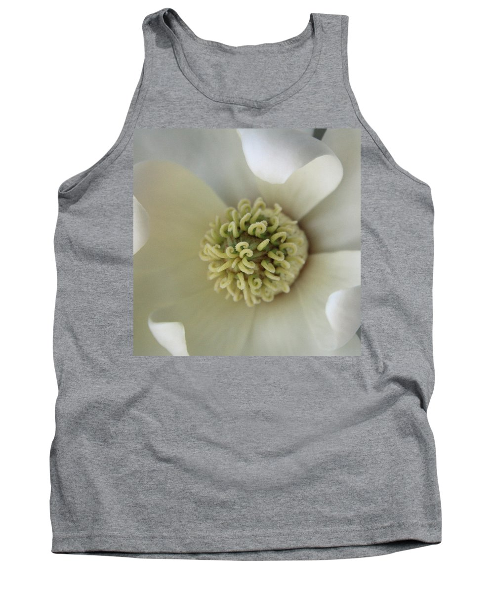Magnolia Tank Top featuring the photograph Magnolia by Carolyn Stagger Cokley