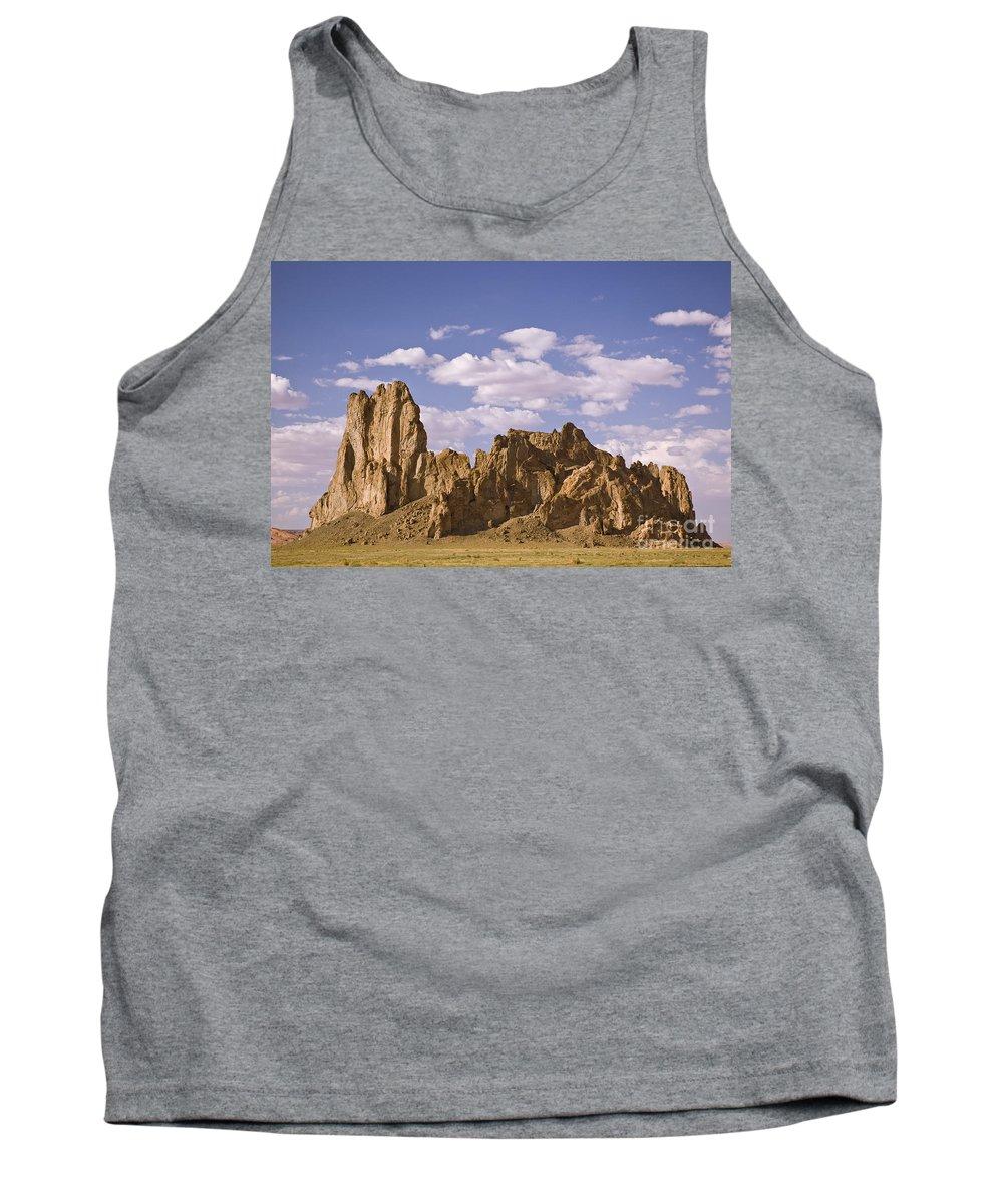 Mesa Tank Top featuring the photograph Mesa 2 by Tim Mulina