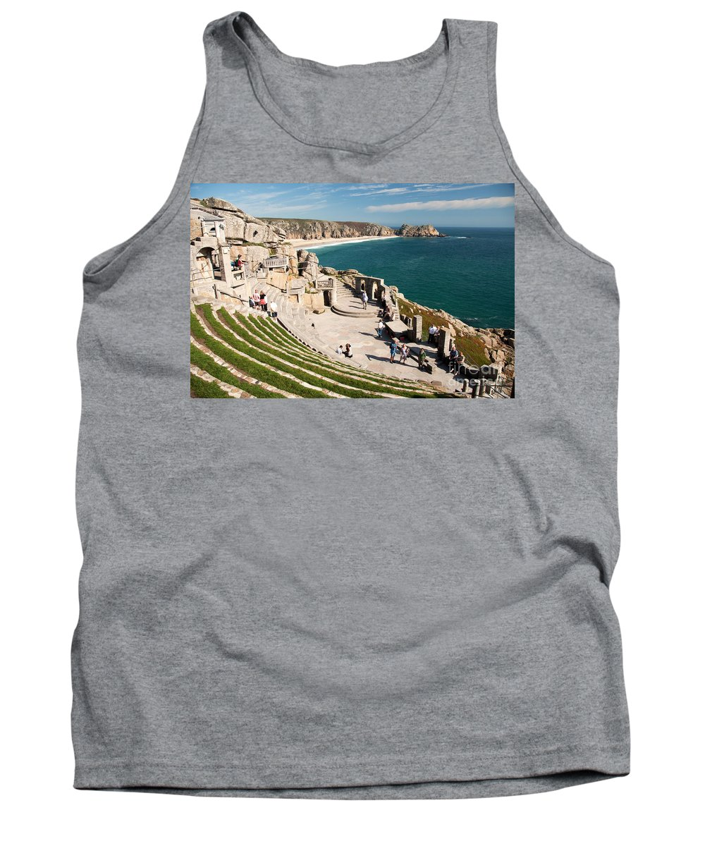 Minack Tank Top featuring the photograph Minack Theatre by Rob Hawkins