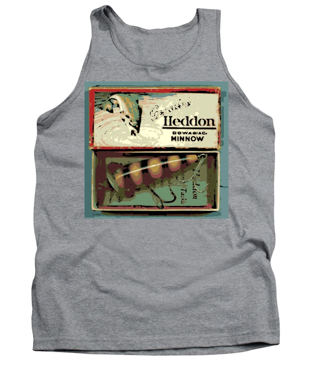 Antique Tank Top featuring the photograph Minnow by George Pedro
