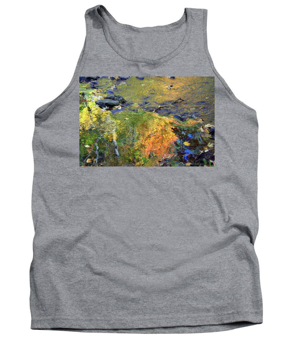 Monet Tank Top featuring the photograph Monetesque by Valentino Visentini