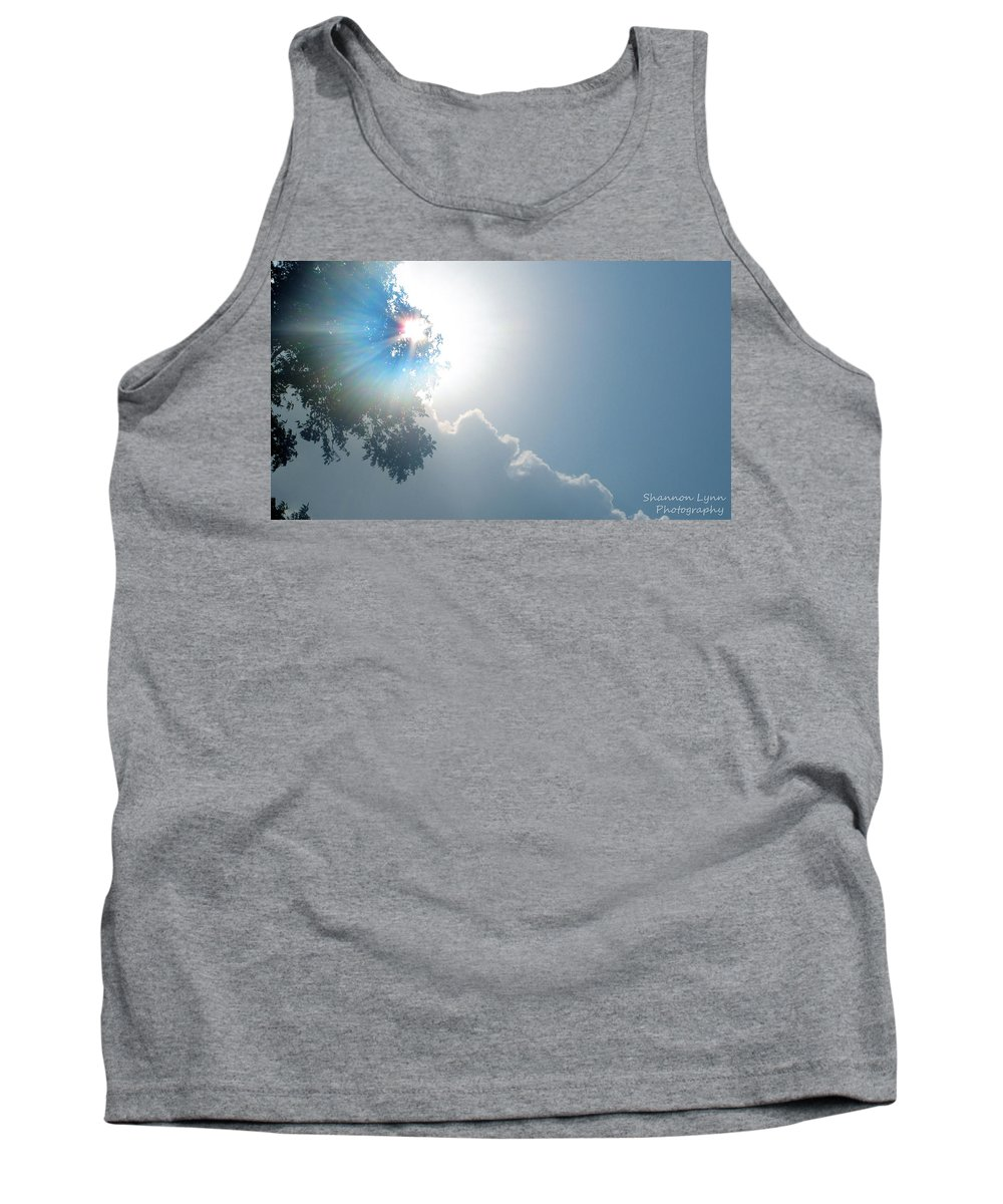 Sun Tank Top featuring the photograph Morning Glory by Shannon Nolting
