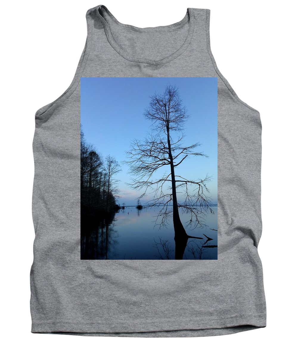 Sunrise Tank Top featuring the photograph Morning Serenity 2 by Brett Winn