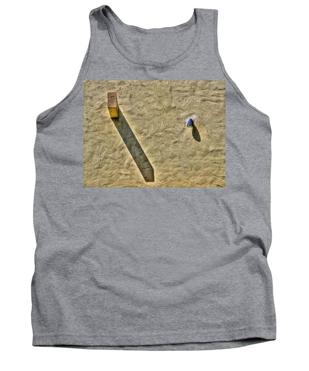 Photography Tank Top featuring the photograph Mr. Big And Little Squirt by Paul Wear