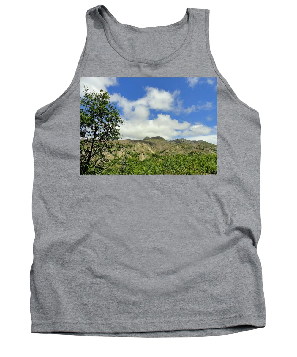Photos Of Mt St Helens Photographs Tank Top featuring the photograph Mt St Helens 2 by Christy Leigh