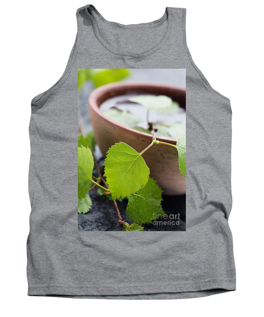 Spa Tank Top featuring the photograph Natural Spa by Kati Finell