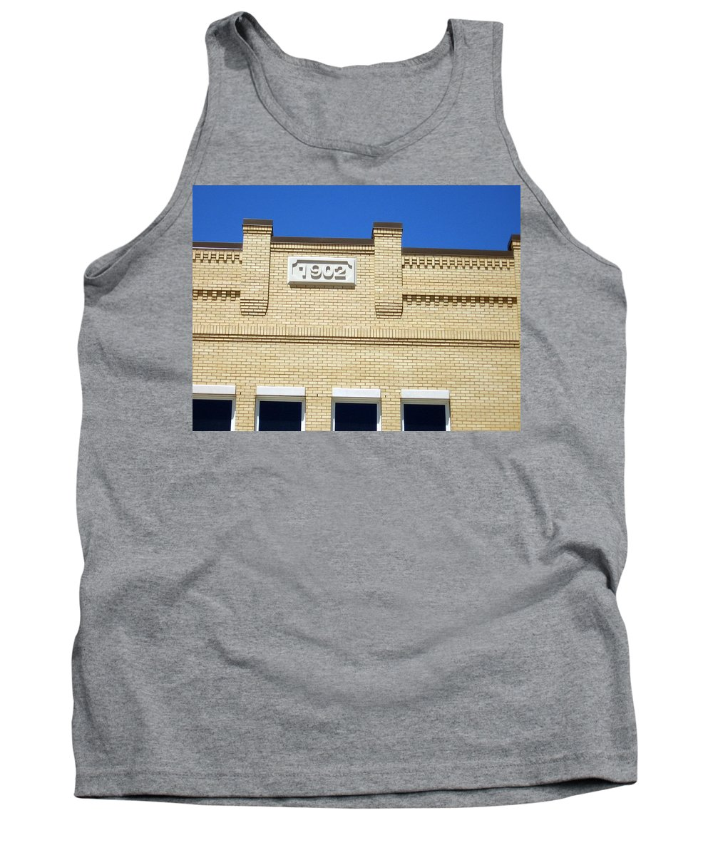 Building Tank Top featuring the photograph New Building Looking Old by Amy Hosp