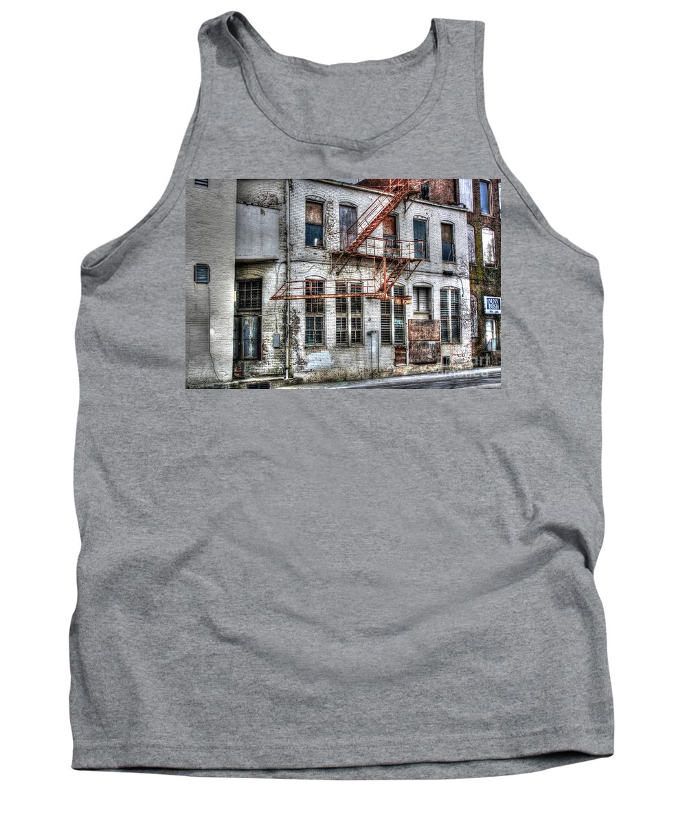 American Tank Top featuring the photograph No Escape by Dan Stone