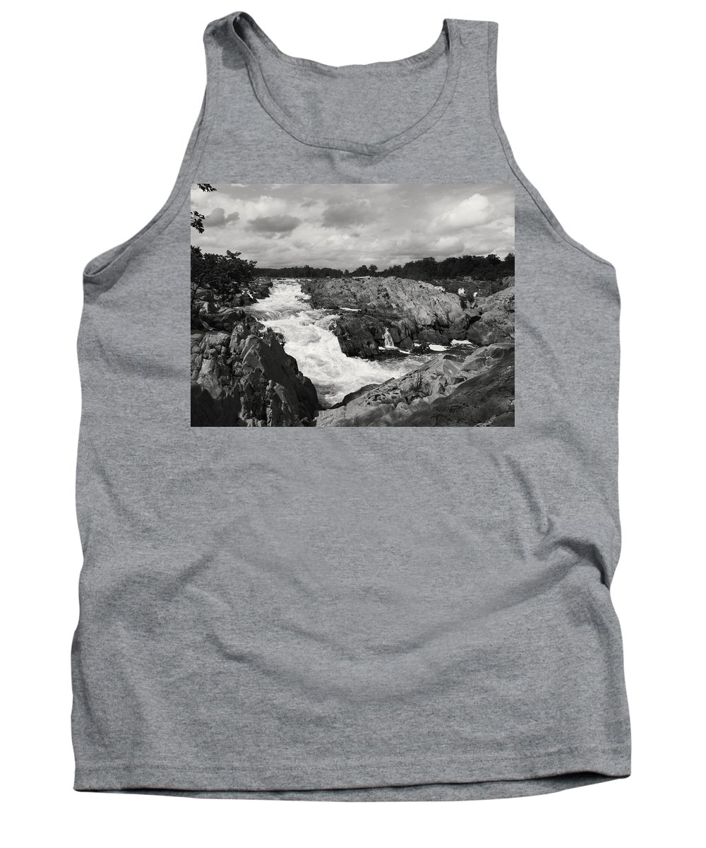 Virginia Tank Top featuring the photograph On The Rokz by Phil Cappiali Jr