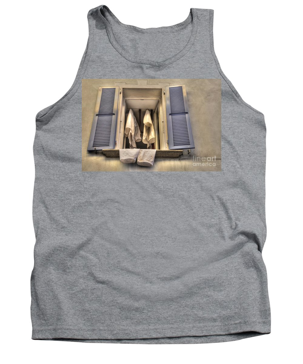 Window Tank Top featuring the photograph Open Window by Mats Silvan