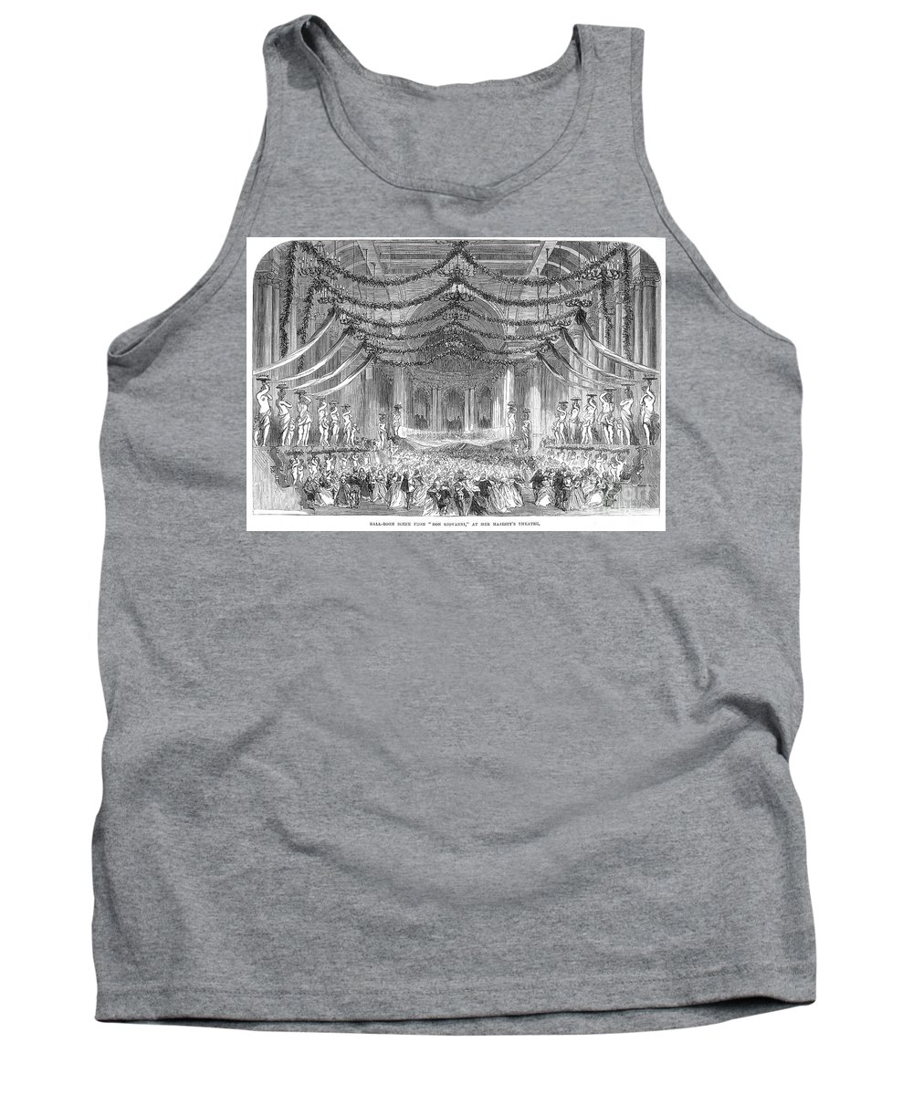 1867 Tank Top featuring the photograph Opera: Don Giovanni, 1867 by Granger
