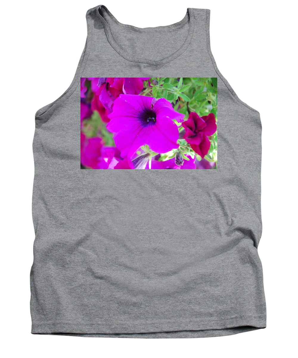 Pink Tank Top featuring the photograph Pink Petals by Michael Merry